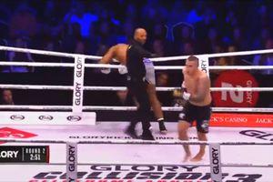 """VIDEO Benny Adegbuyi, făcut KO! Croatul Antonio Plazibat l-a """"bombardat"""", în """"Glory Collision 3""""!"""