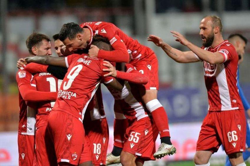 Dinamo a câștigat cu 3-0 cu FC Voluntari