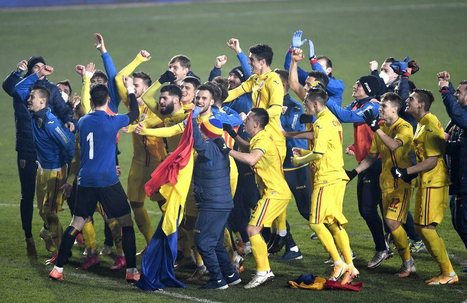 România U21 s-a calificat la EURO 2021 după 1-1 cu Danemarca U21 // foto: Imago