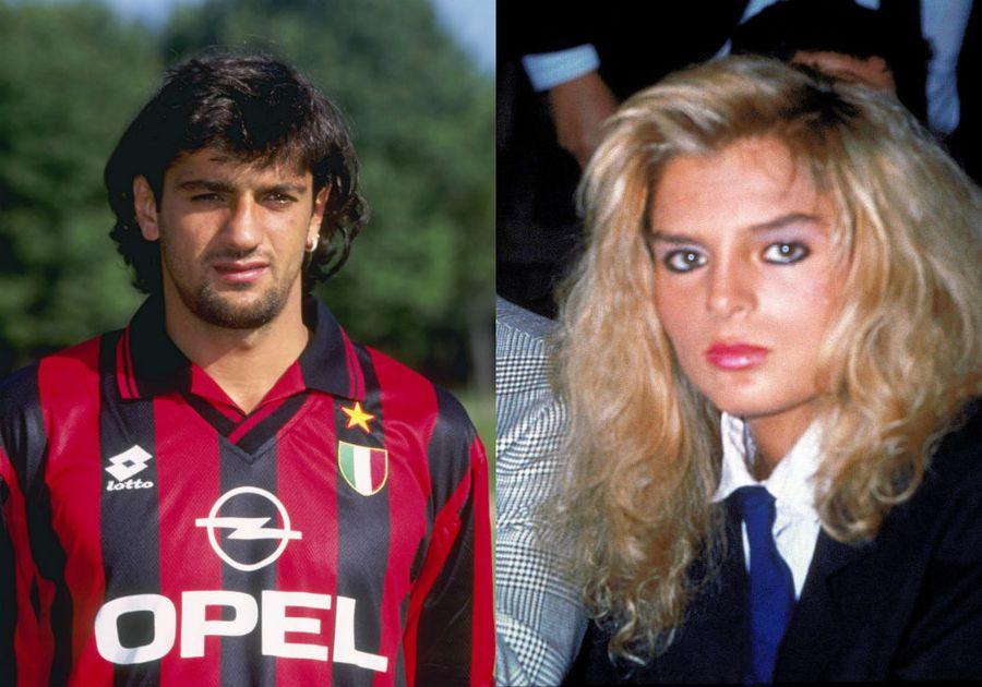 Lentini și Rita, fosta soție a lui Schillaci