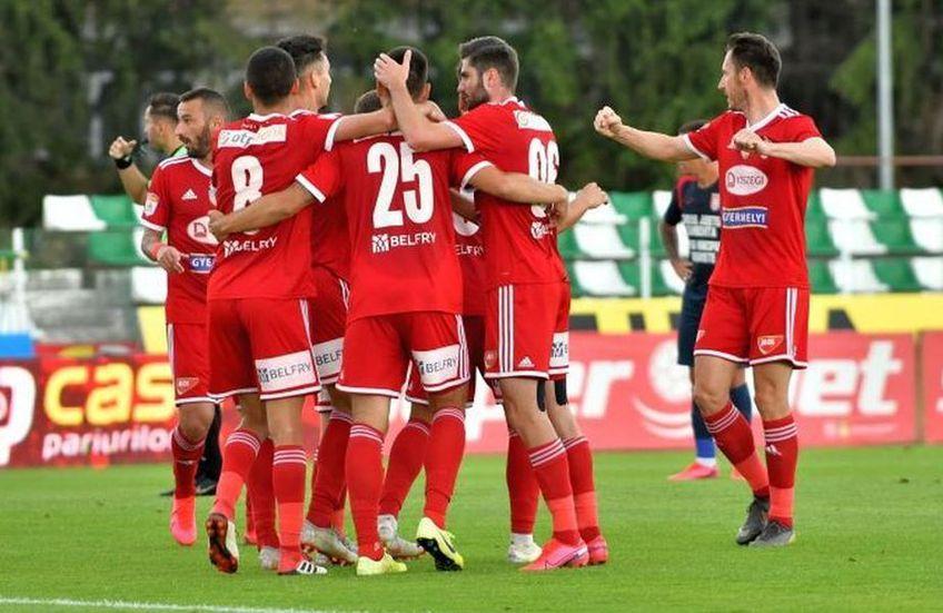 Sepsi Sf. Gheorghe a învins-o pe Chindia, scor 2-1, în primul meci al zilei din Liga 1.