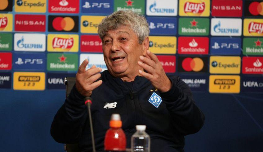Mircea Lucescu, 75 de ani, antrenorul lui Dinamo Kiev, știe că îl va aștepta un meci extrem de greu cu Barcelona, chiar dacă ibericii nu vor putea conta pe Lionel Messi (33), lăsat în afara lotului.
