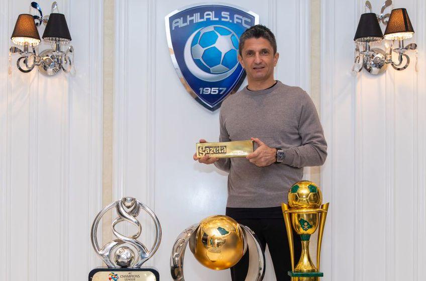 Răzvan Lucescu, antrenorul anului în ancheta GSP