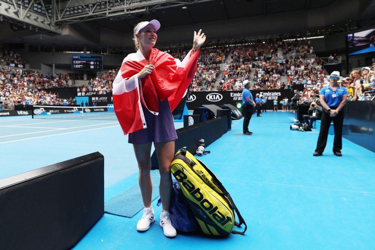 Caroline Wozniacki, ultimul meci