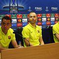Sergio Busquets, Andres Iniesta și Xavi FOTO IMAGO