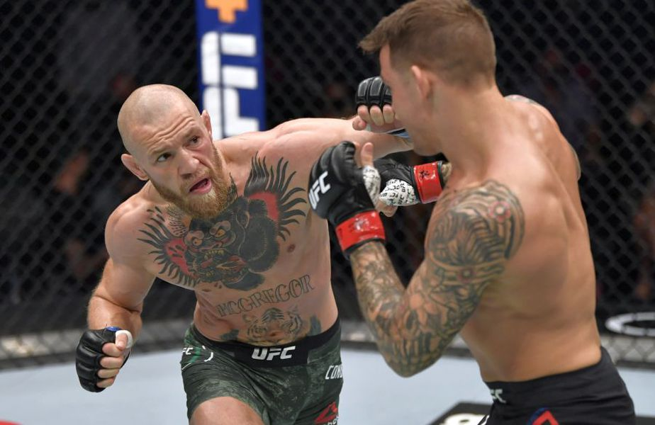 Conor McGregor - Dustin Poirier // foto: Guliver/gettyimages