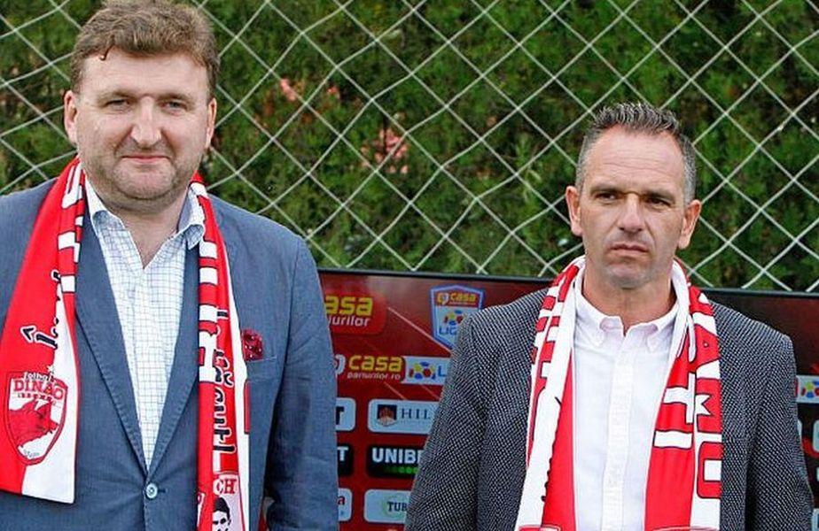 Dorin Șerdean (stânga) și Pablo Cortacero