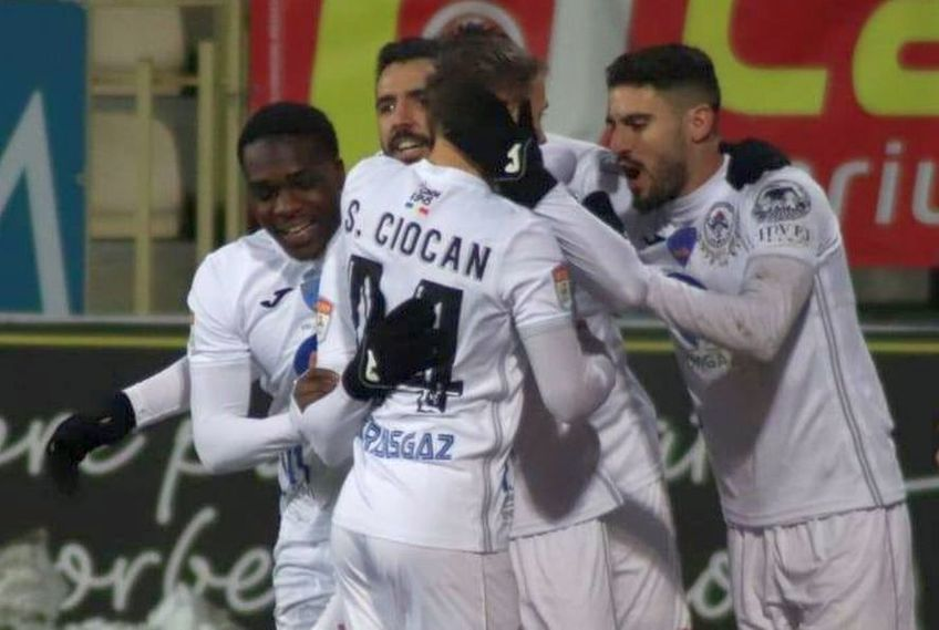Gaz Metan a învins-o pe Poli Iași, scor 2-1, în runda cu numărul 18 din Liga 1.