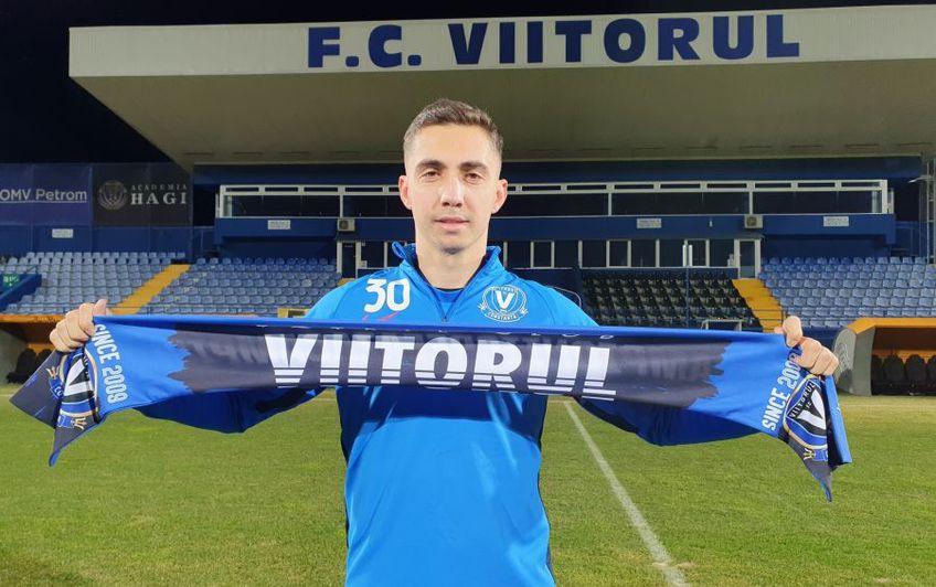 Răzvan Grădinaru (25 de ani, mijlocaș ofensiv) a fost transferat de Viitorul de la FC Voluntari @fcviitorul.ro