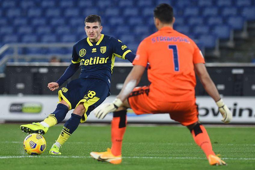 Sampdoria a învins-o pe Parma, scor 2-0, în runda #19 din Serie A. Valentin Mihăilă (20 de ani), extrema stângă a galben-albaștrilor, a intrat pe teren de-abia în minutul 80.
