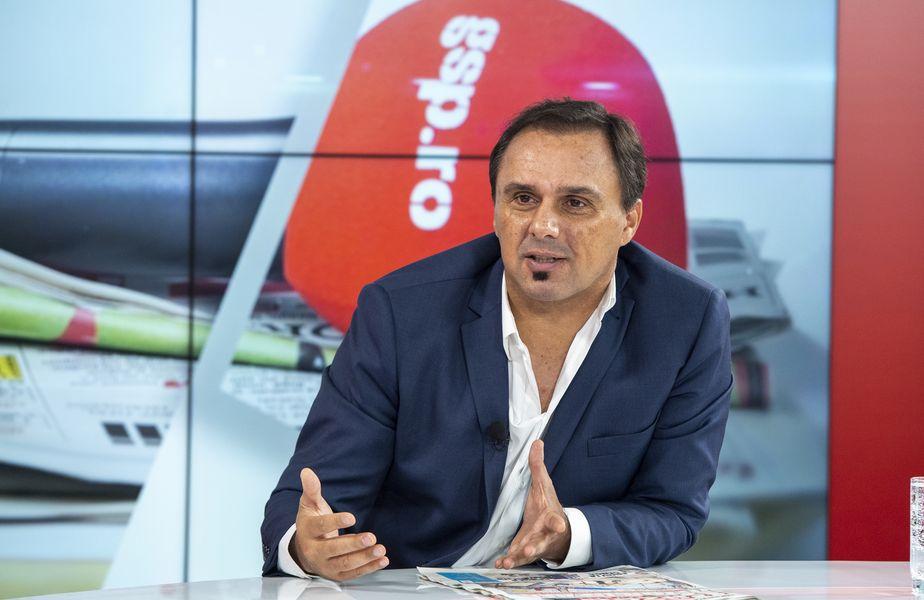 """Basarab Panduru, în emisiunea """"Prietenii lui Ovidiu"""" // Foto: GSP"""