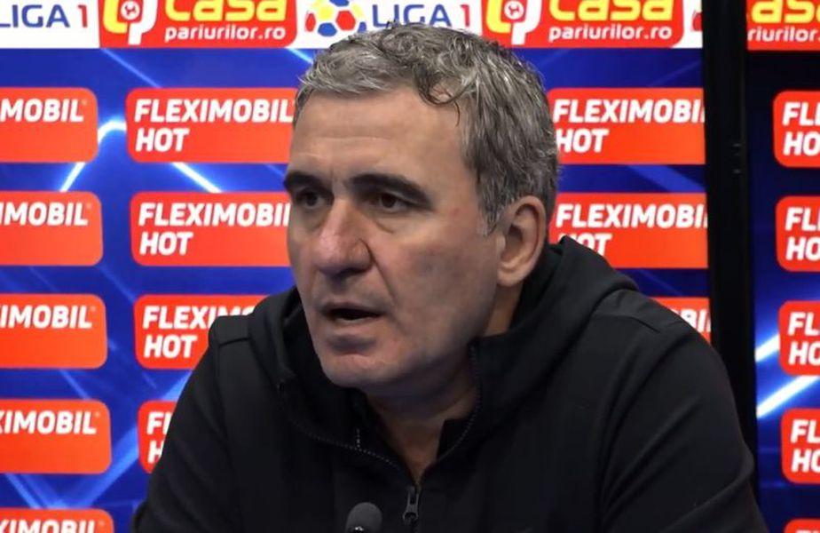 Gică Hagi, captură TV Telekom Sport