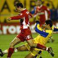 Imagine de la Petrolul - Dinamo 0-1, din noiembrie 2003