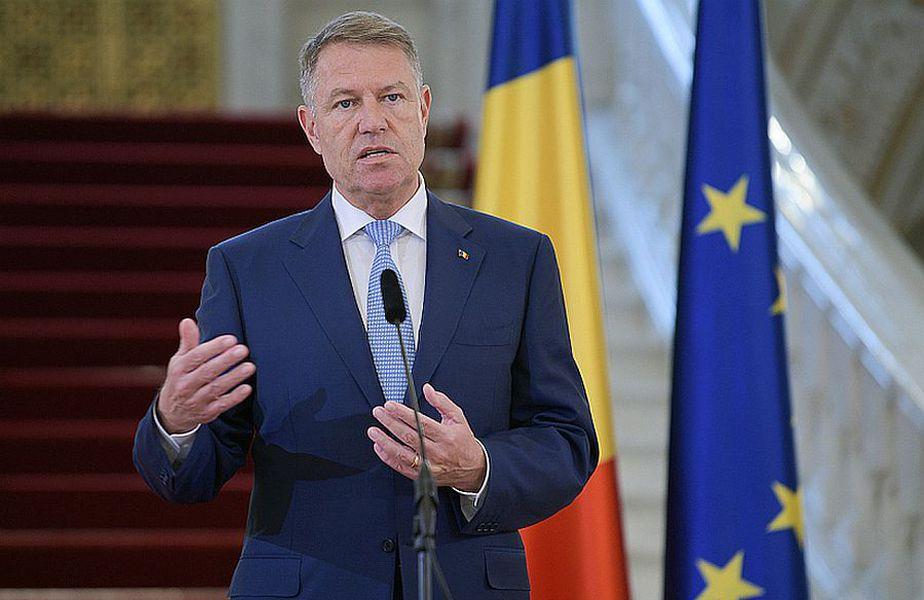 Președintele Klaus Iohannis // FOTO: presidency.ro