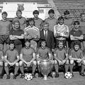 Steaua, campioana continentală din 1986. Lipsește Radu II, aflat în spital în acel moment