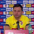 Nicolae Dică, antrenorul secund al României, a susținut o conferință de presă înainte de meciul contra Macedoniei de Nord