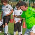 Răducanu, la școala sa de fotbal FOTO Facebook