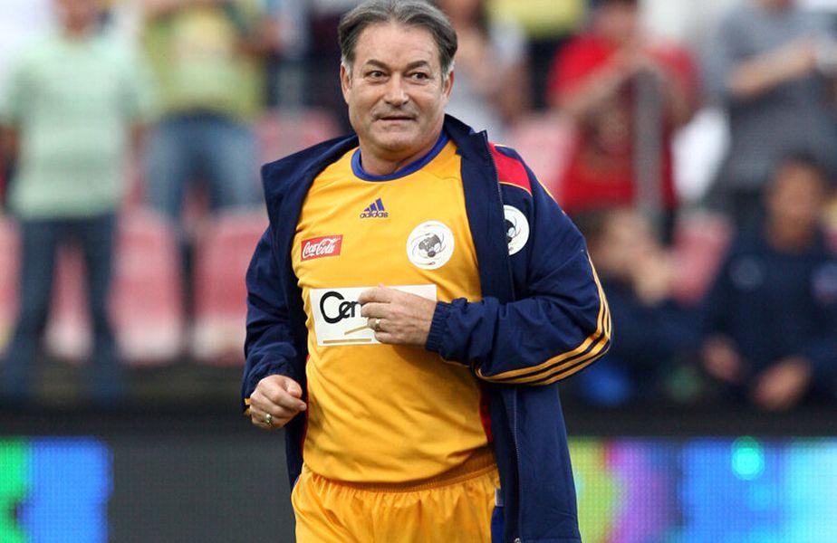 Costică Ştefănescu a fost unul dintre cei mai mari fotbaliști din istoria Craiovei