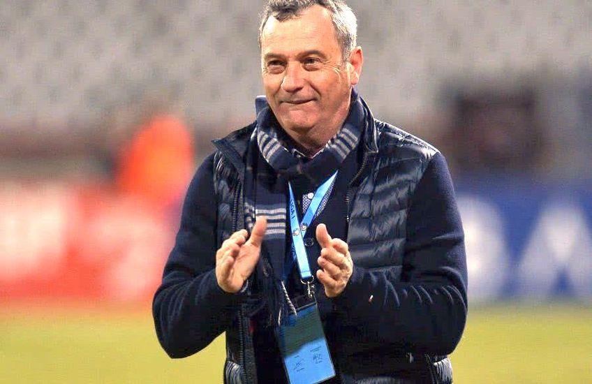 Mircea Rednic este din luna ianuarie antrenorul lui Poli Iași