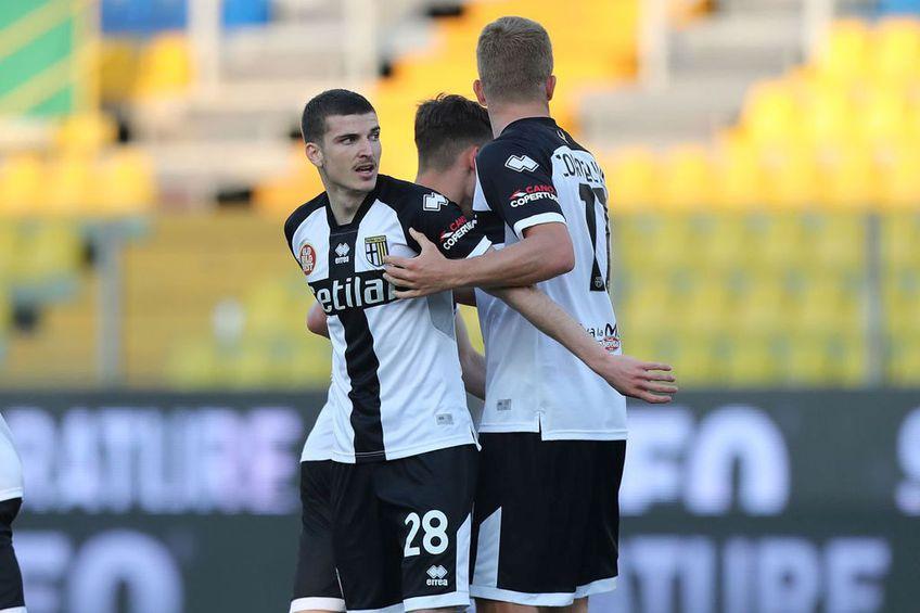 Parma a pierdut pe teren propriu cu Crotone, 3-4 / Sursă foto: Getty & Capturi TV @Telekom Sport