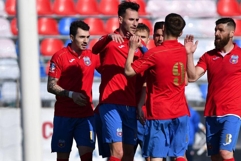 CSA Steaua București a câștigat partida cu CS Tunari FOTO Facebook AS47