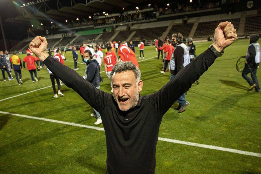 Christophe Galtier, campion cu Lille, va semna foarte probabil cu Nice, foto: Imago
