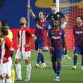 Ivan Rakitici a marcat golul victoriei Barcelonei FOTO: Gettyimages