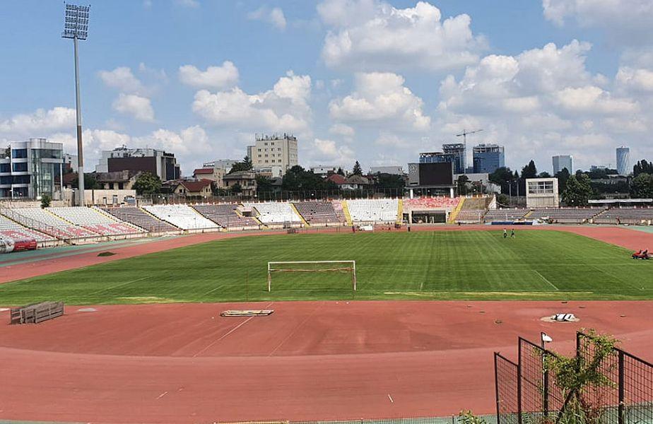 Așa arată gazonul de pe Stadionul lui Dinamo