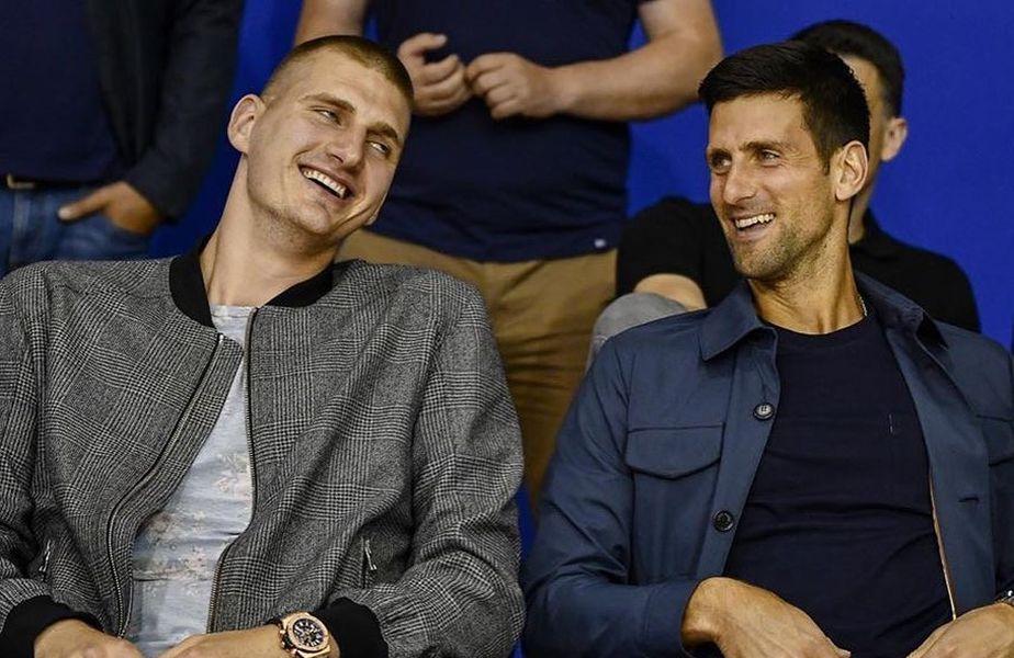 Jokic și Djokovic, împreună la un eveniment în Serbia FOTO: Instagram @nikolajokicofficial
