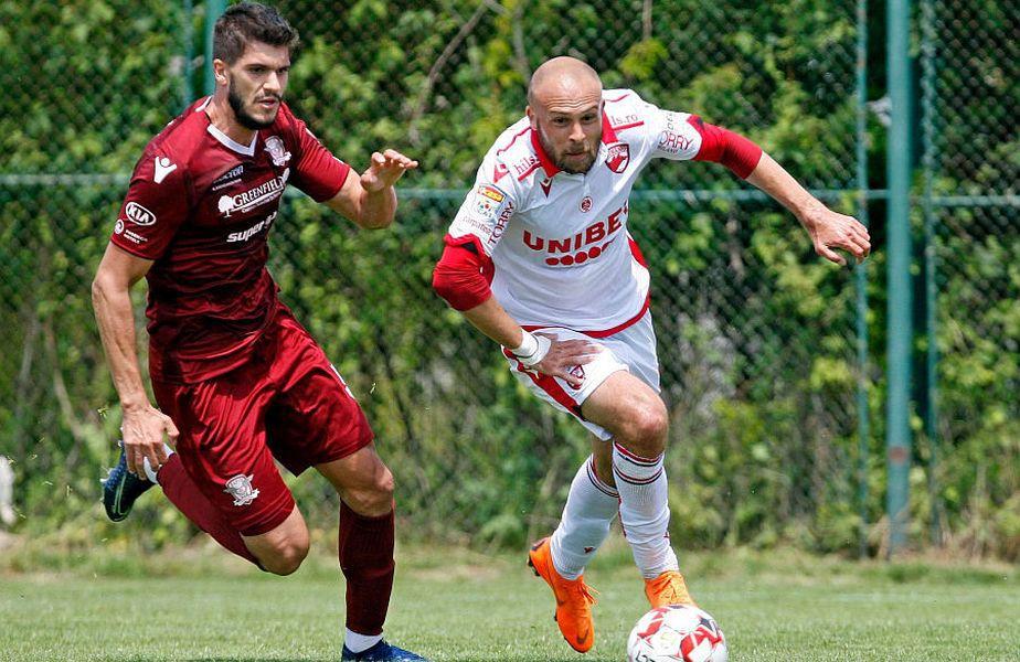 Slavko Perovic e dezamăgit că nu va juca în derby-ul cu FCSB
