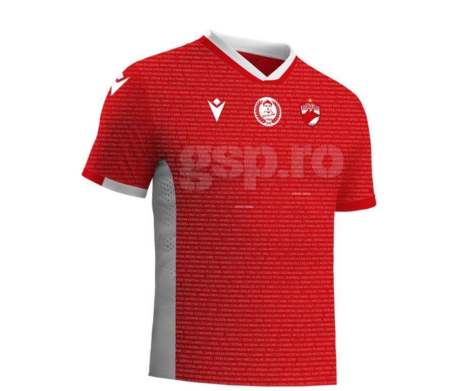 """Dinamo, surpriză pentru fani! Cum va arăta tricoul de joc dedicat suporterilor DDB: """"Designul e deja acceptat"""""""