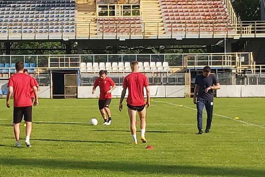 Florin Stângă (foto, dreapta) este noul antrenor al Astrei // foto: Facebook @ Astra Giurgiu