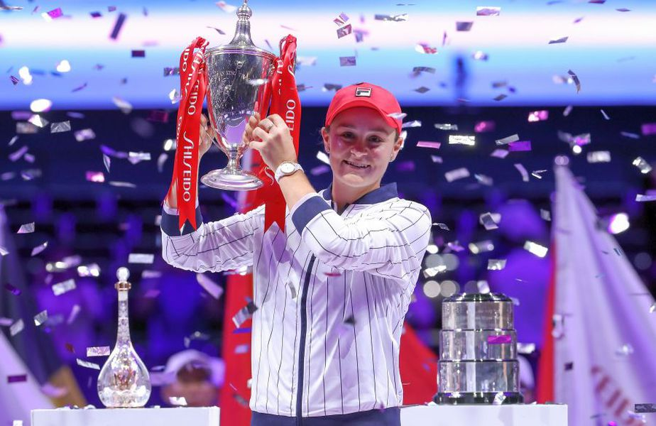 Ashleigh Barty a cucerit Turneul Campioanelor în 2019 // FOTO: Guliver/GettyImages