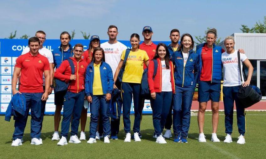 Toți sportivii calificați prezenți la Izvorani s-au fotografiat împreună Foto Raed Krishan