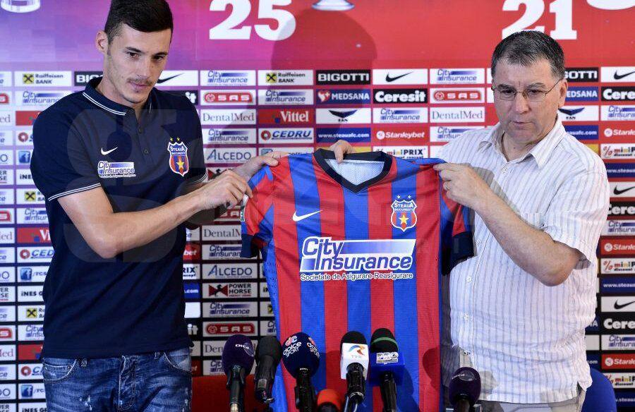 A luat titlul cu Dinamo și a evoluat două luni pentru FCSB » Unde a ajuns să joace atacantul care trebuia să îi ducă pe roș-albaștri în Champions League