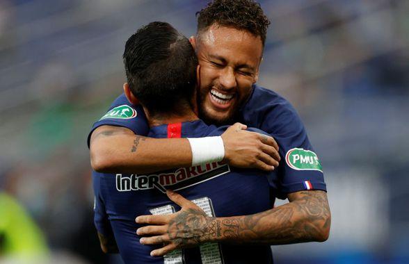 PSG - St. Etienne 1-0 » VIDEO+FOTO Neymar aduce victoria parizienilor în finala Cupei Franței! 5.000 de spectatori pe Stade de France + Mbappe, în cârje după o accidentare serioasă