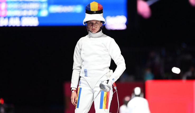 Ana Maria Popescu, în acțiune la Jocurile Olimpice. FOTO: Raed Krishan - Tokyo