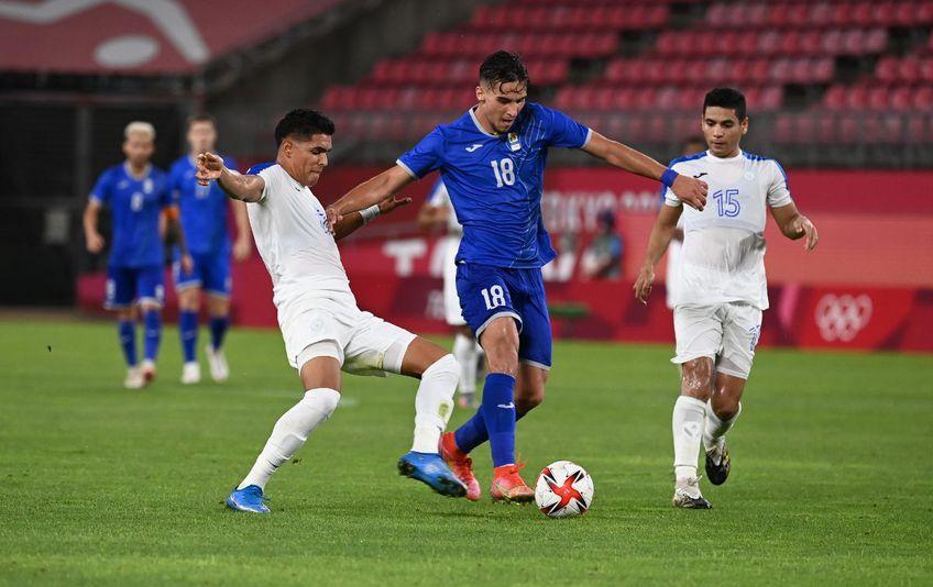 Marco Dulca în meciul cu Honduras Foto:Raed-Krishan-Tokyo