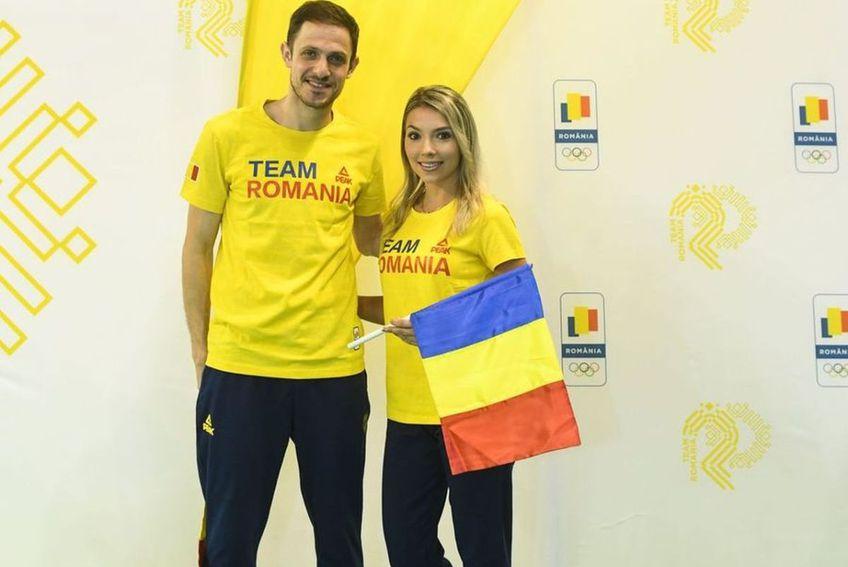 Bernadette Szocs și Ovidiu Ionescu s-au calificat în sferturi la tenis de masă. Foto: COSR