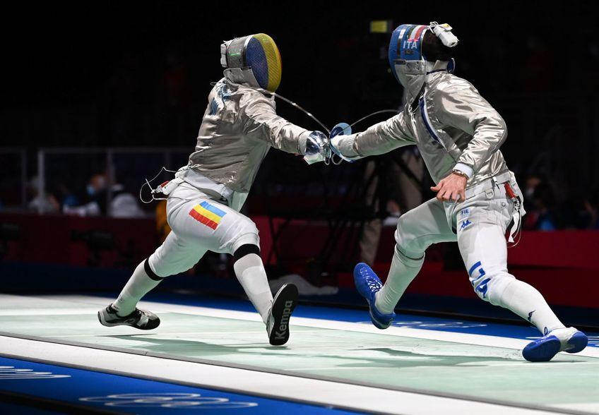 Iulian Teodosiu a fost eliminat de la Jocurile Olimpice.