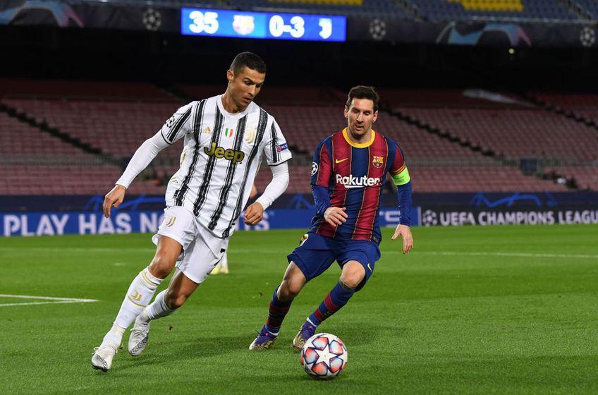 Messi și Ronaldo se vor întâlni în amicalul Barcelona - Juventus Foto:GettyImages