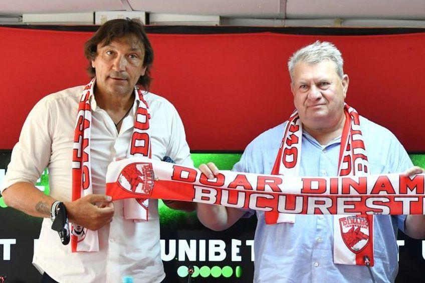 Dario Bonetti (în stânga) e considerat antrenorul perfect pentru situația curentă din Ștefan cel Mare / foto: GSP
