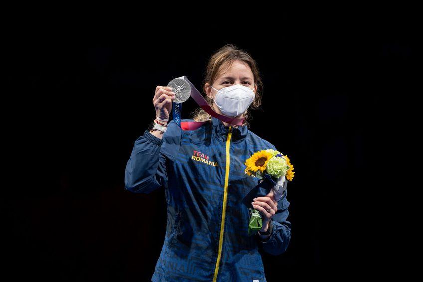 Ana Maria Popescu a câștigat prima medalie pentru România la Jocurile Olimpice / foto: Raed Krishan (Tokyo)