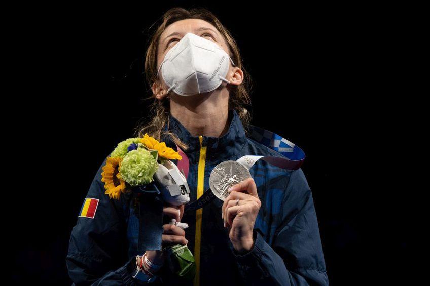 Ana Maria Popescu, medalie de argint la Jocurile Olimpice (foto: Raed Krishan - Tokyo)