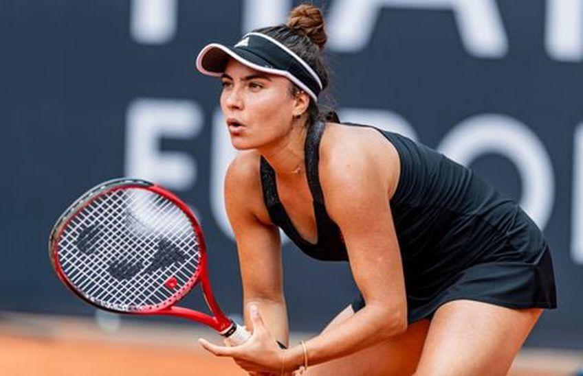 """Gabriela Ruse e în finală și la WTA Palermo: """"Am vrut să abandonez, nu-mi mai puteam menține echilibrul"""""""
