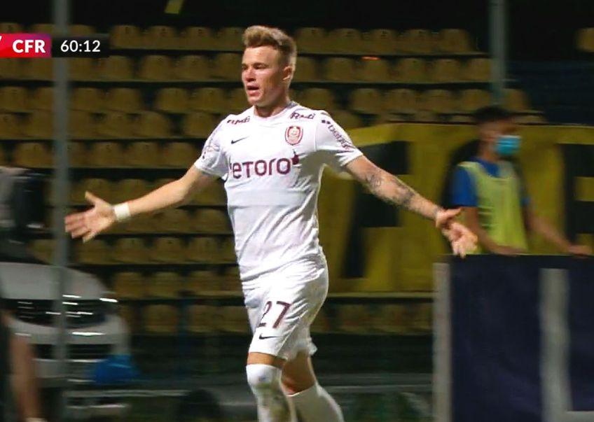 CFR Cluj a învins-o pe Academica Clinceni, scor 2-1, în runda secundă a sezonului 2021/2021 din Liga 1.