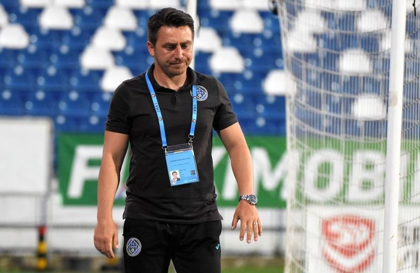 CFR Cluj a învins-o pe Academica Clinceni, scor 2-1, în runda secundă a sezonului 2021/2021 din Liga 1. Ilie Poenaru (44 de ani) e nemulțumit de prestația defensivă a formației sale.
