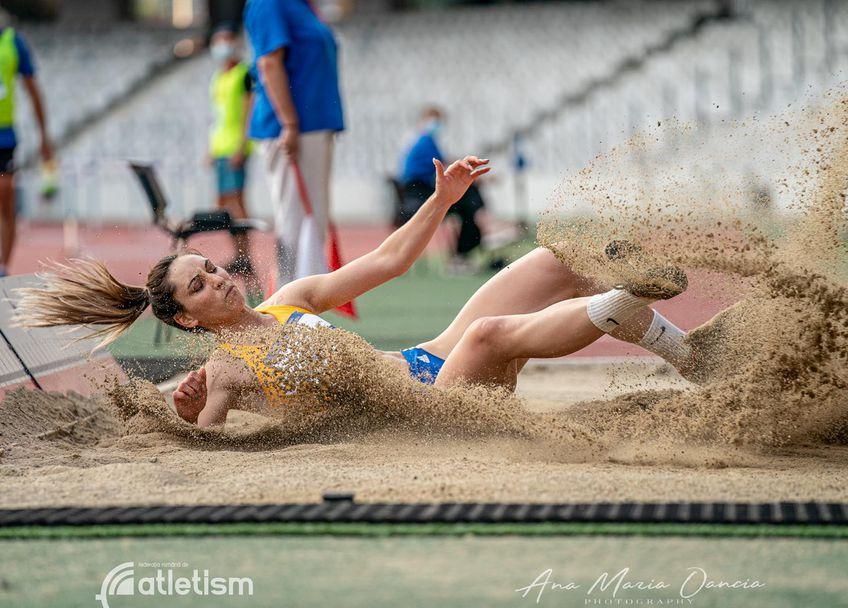 Florentina Iușco a câștigat două titluri la Internaționalele României FOTO FR Atletism