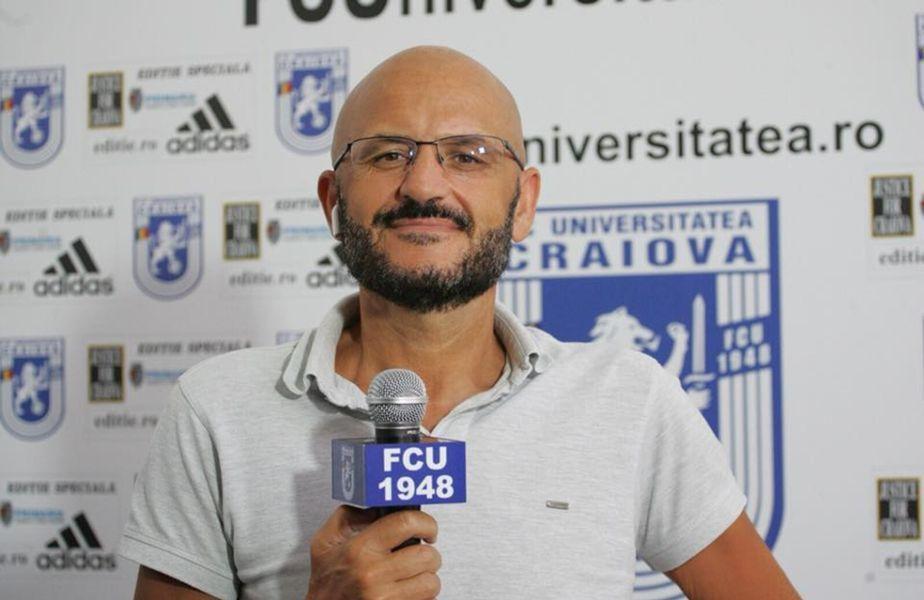 Flavius Stoican (43 de ani) a bătut palma cu Adrian Mititelu (52 de ani) și va fi noul antrenor al divizionarei secunde FC U Craiova 1948.