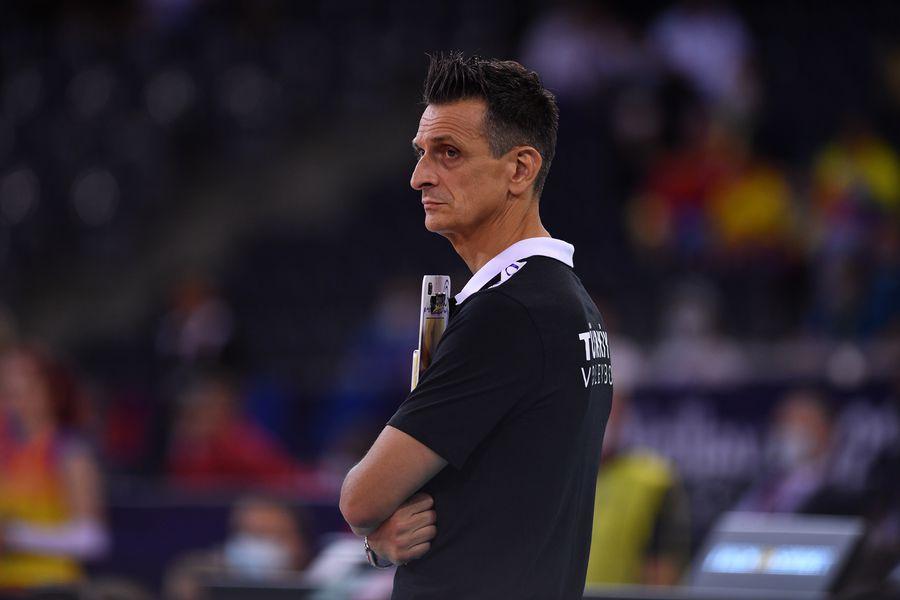 """Giovanni Guidetti, unul dintre cei mai buni antrenori din lume: """"România e o echipă cu un potențial foarte bun, dar prea crudă"""""""